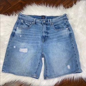 GAP Bermuda Denim Jean Shorts Size 27